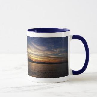 Sunset On The River Mug