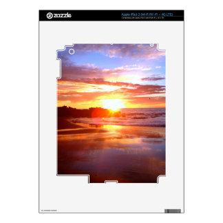 Sunset On The Rocks iPad 3 Decal