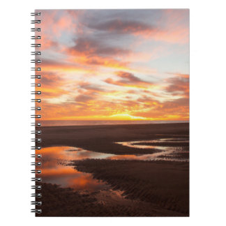 Sunset On The Sea Of Cortez Notebook