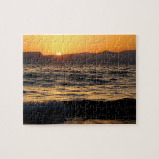 Sunset on the Sea of Galilee Puzzle