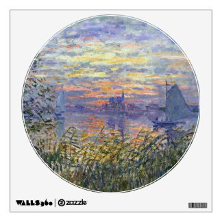 Sunset on the Seine Wall Decal