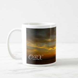 Sunset on the Sound Classic White Coffee Mug