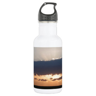 Sunset On The Steppes Water Bottle