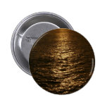Sunset on the Water Abstract Ocean Photography Button