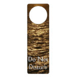 Sunset on the Water Abstract Ocean Photography Door Hanger