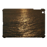 Sunset on the Water Abstract Ocean Photography iPad Mini Covers