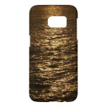 Sunset on the Water Abstract Ocean Photography Samsung Galaxy S7 Case