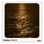 Sunset on the Water Abstract Ocean Photography Wall Sticker