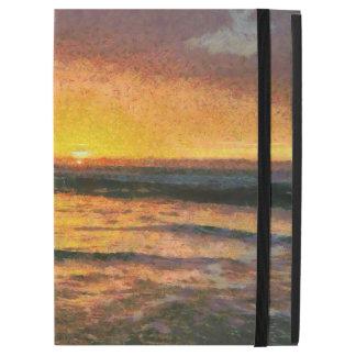 """Sunset on the water iPad pro 12.9"""" case"""