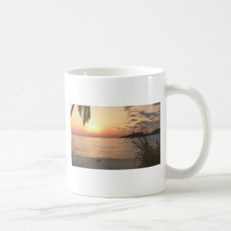 Sunset on the Water Classic White Coffee Mug
