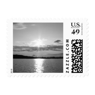 Sunset on the Water Postage