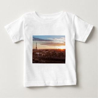 Sunset one the Eiffel tower, Paris, France Tee Shirts
