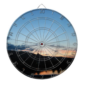 Sunset one the Rhone Dartboards