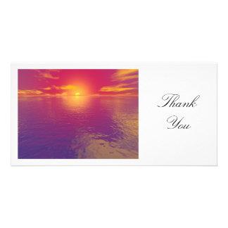 Sunset or Sunrise - Thank You Card