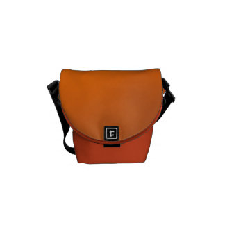 Sunset Orange & Mandarin Accessory Bag