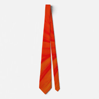 Sunset Orange Neck Tie