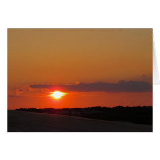 Sunset Outer Banks Card