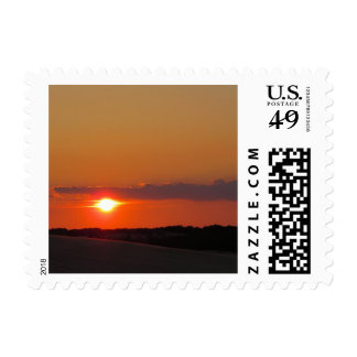Sunset Outer Banks Postage