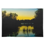 Sunset over a Lake Place Mat