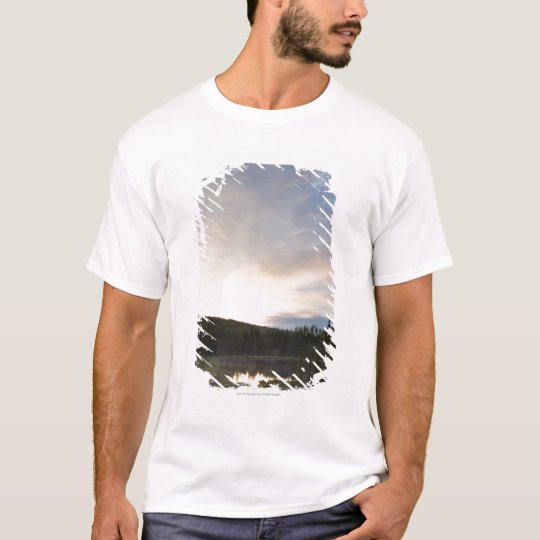 Sunset Over A Misty Pond T-Shirt
