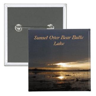 Sunset Over Bear Butte Lake Pin