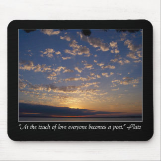 Sunset Over Bellingham Bay Mouse Pad