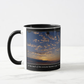 Sunset Over Bellingham Bay Mug