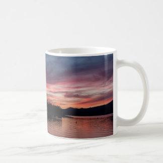 Sunset over Big Bear Lake mug
