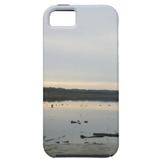 Sunset over Blakemere Moss in Winter iPhone 5 Cover