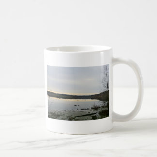 Sunset over Blakemere Moss in Winter Coffee Mug