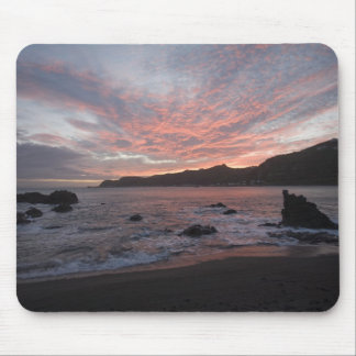 Sunset over Breaker Bay Mouse Pad