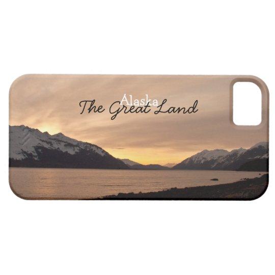 Sunset Over Cannery Bay; Alaska Souvenir iPhone SE/5/5s Case