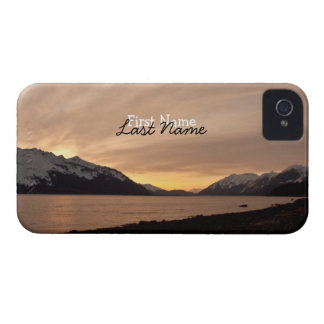Sunset Over Cannery Bay; Customizable iPhone 4 Case-Mate Case