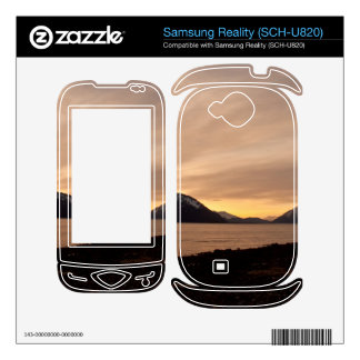 Sunset Over Cannery Bay Samsung Reality Decal