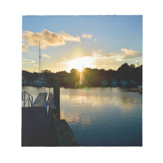 Sunset over Cape Cod Notepad