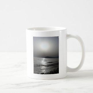 Sunset over Castle Classic White Coffee Mug