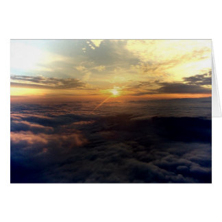 Sunset Over Clouds - Others Care Card
