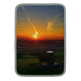 Sunset over Coaley Peak UK Sleeve For MacBook Air