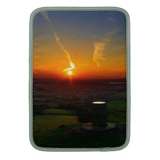 Sunset over Coaley Peak UK MacBook Air Sleeve
