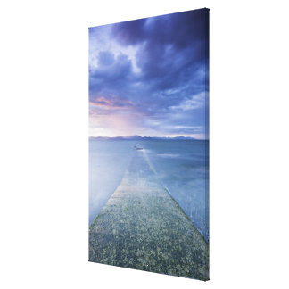 Sunset Over Dundalk Bay Gallery Wrap Canvas