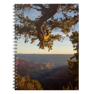 Sunset over Grand Canyon Spiral Note Books