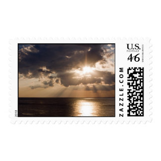 Sunset Over Gulf of Mexico Postage