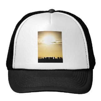 Sunset over Honolulu Trucker Hat