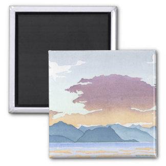 Sunset Over Howe Sound Magnet