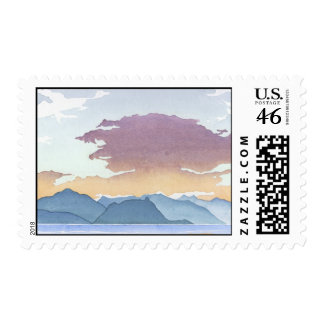 Sunset Over Howe Sound Stamps