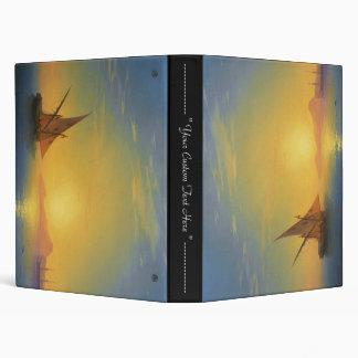 Sunset over Ischia Ivan Aivazovsky seascape waters Vinyl Binders