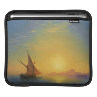Sunset over Ischia Ivan Aivazovsky seascape waters iPad Sleeve