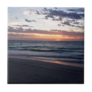 Sunset Over Jurien Bay, Western Australia Ceramic Tiles