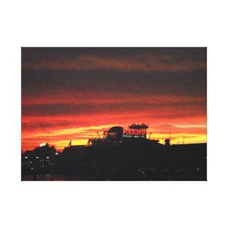 Sunset Over Lake Buena Vista II Canvas Print