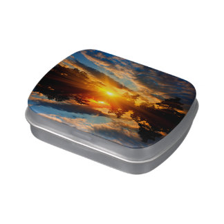 Sunset over Lake Candy Tin